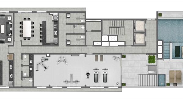 Max Plaza - Apto 1 Dorm, Centro, Canoas (BD2788) - Foto 15