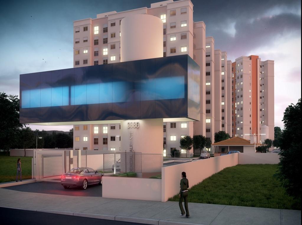 Alicante - Apto 2 Dorm, São Sebastião, Esteio (BD2859)