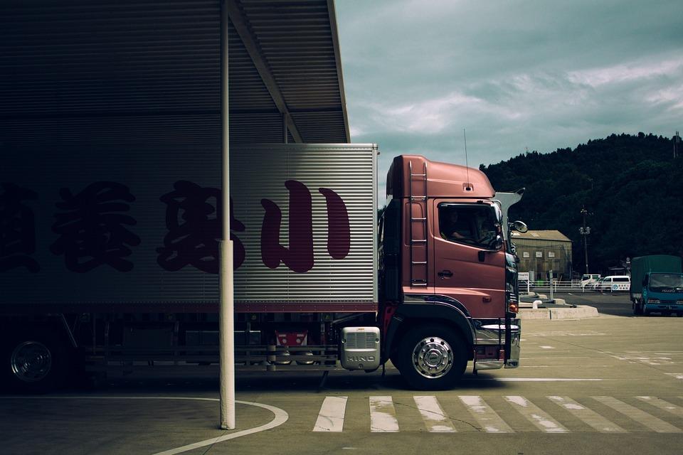 caminhão de entregas